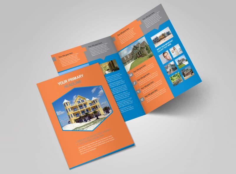 Property Management Bi-Fold Brochure Template 2
