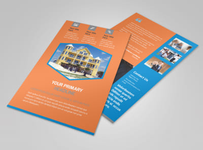 Property Management Flyer Template 3
