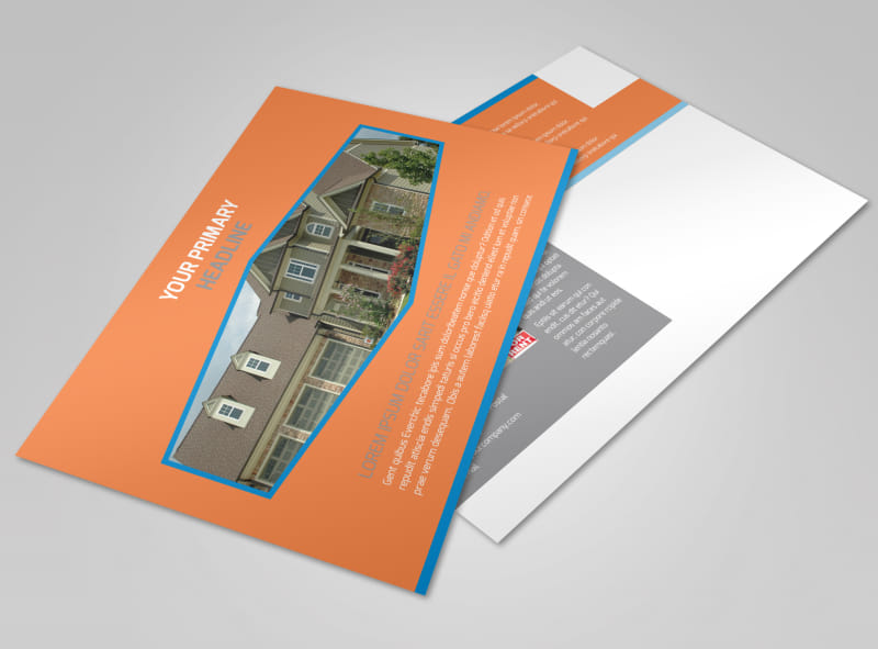 Property Management Postcard Template Preview 4