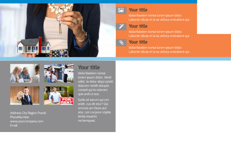 Property Management Postcard Template Preview 3