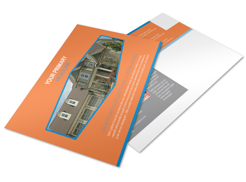 Property Management Postcard Template Preview 1