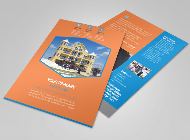 Property Management Flyer Template Mycreativeshop
