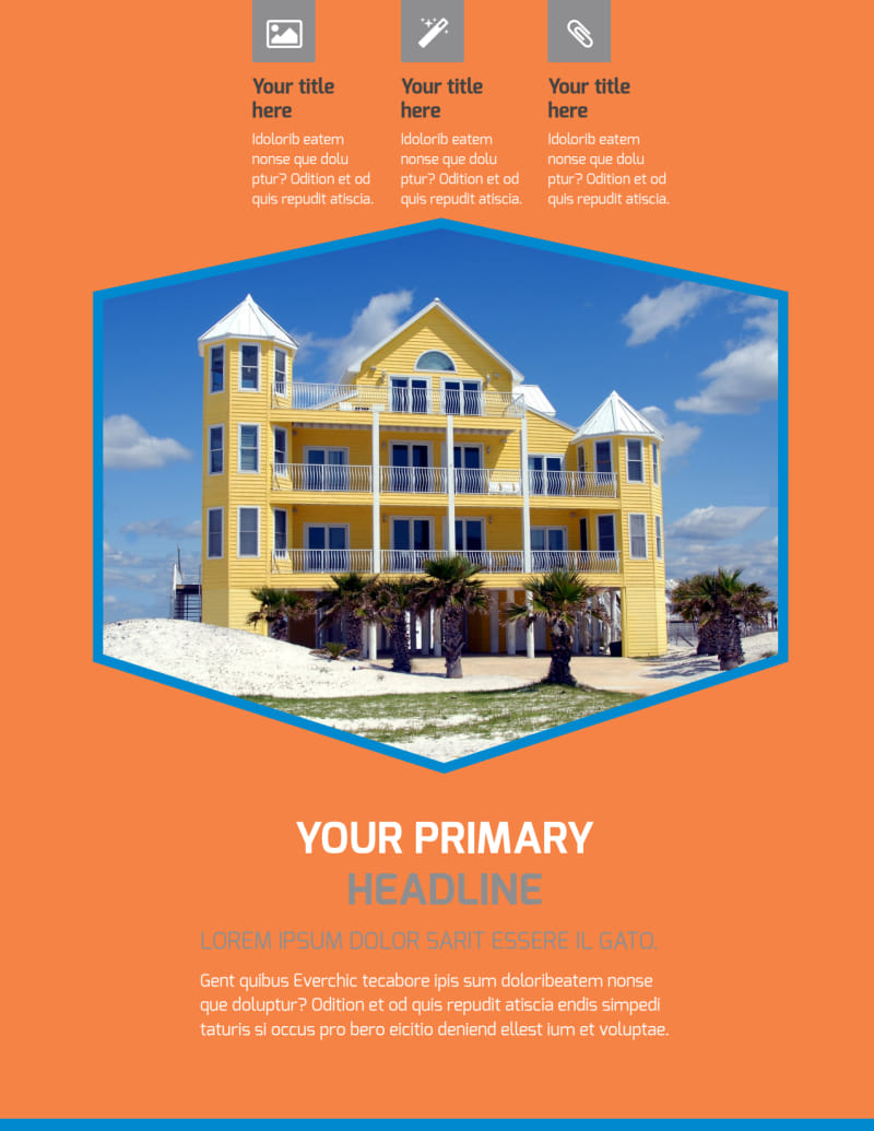 Property Management Flyer Template Preview 2