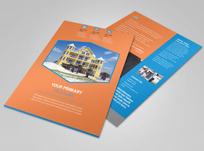 Property Management Flyer Template preview