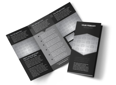 Generic Tri-Fold Brochure Template 9857