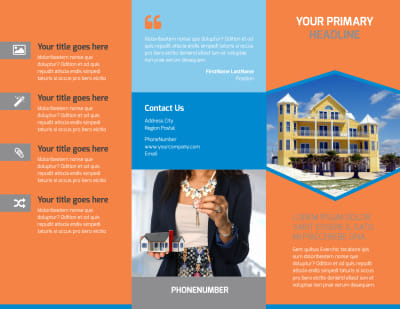 Property Management Brochure Template Preview 1