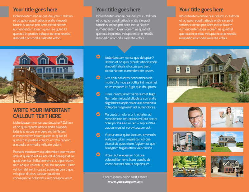 Property Management Brochure Template Preview 3