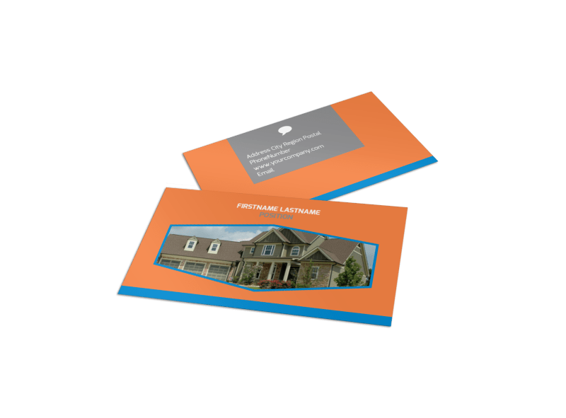 Property Management Business Card Template Preview 1