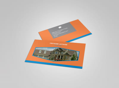Property Management Business Card Template preview