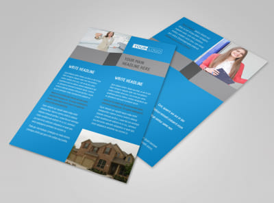 Real Estate Home for Sale Flyer Template 3