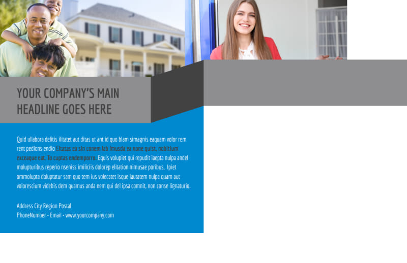 Residential Real Estate Postcard Template Preview 3