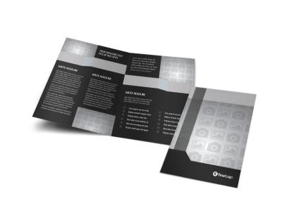 Generic Bi-Fold Brochure Template 9864