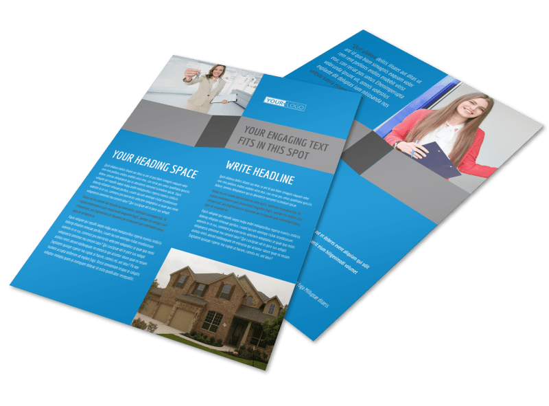Residential Real Estate Flyer Template Preview 1