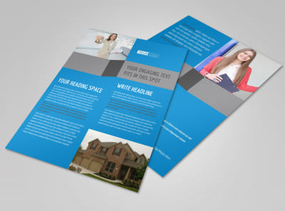 Real Estate Home for Sale Flyer Template