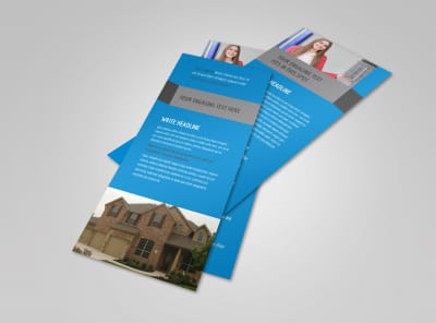 Real Estate Home for Sale Flyer Template 2