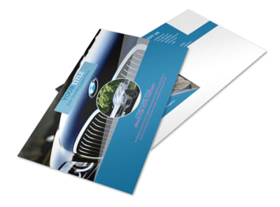 Auto Detailing Postcard Template 2 preview