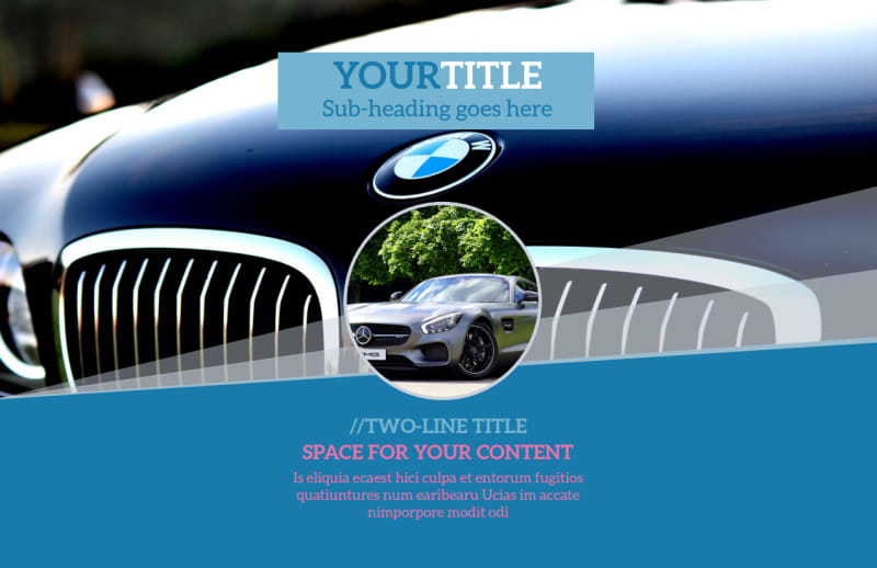 Auto Detailing Postcard Template Preview 2