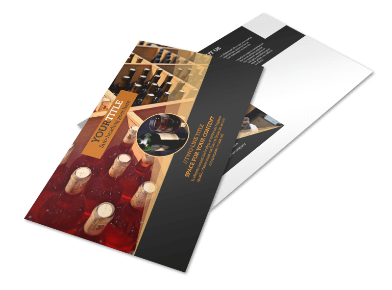 Wine Tour Postcard Template Preview 1