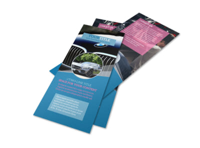 Auto Detailing Flyer Template 2 preview