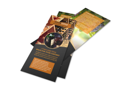 Wine Tour Flyer Template 2