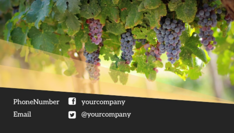 Wine Tour Business Card Template Preview 3
