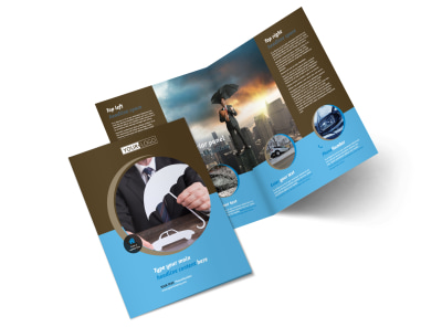 Car Insurance Company Brochure Template 2