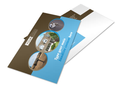 Home Security Installation Postcard Template 2 preview