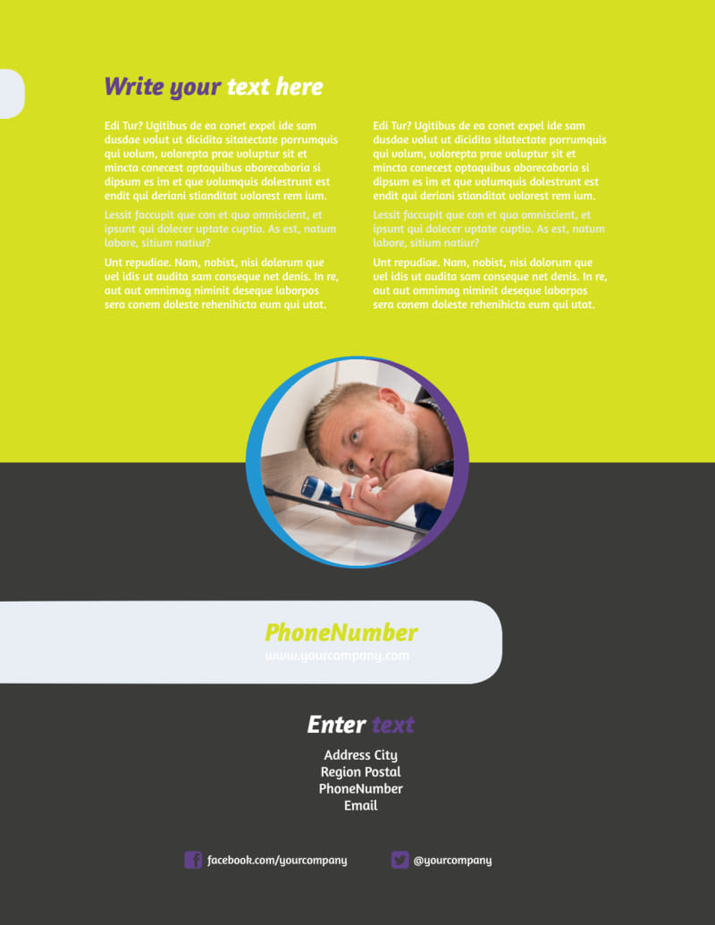Pest Control Flyer Template Preview 3