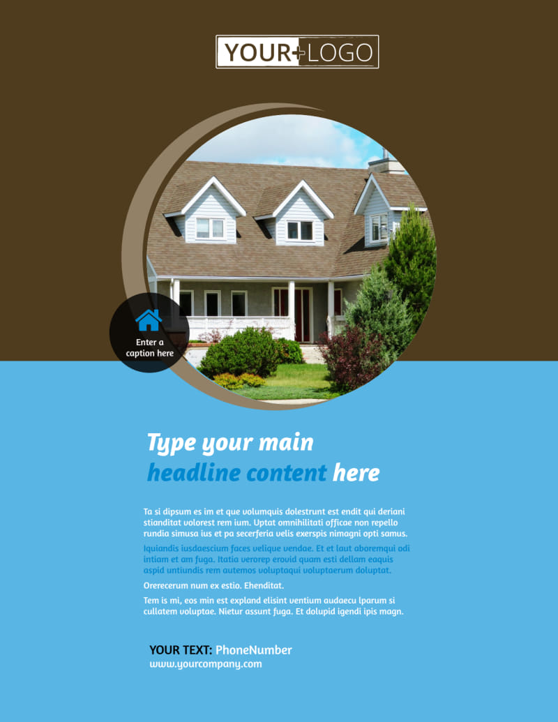 Home Security Installation Flyer Template Preview 2