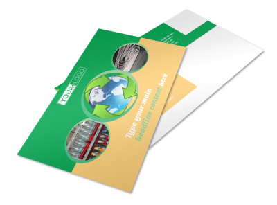 Recycling Postcard Template 2 preview