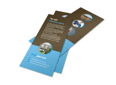 Home Security Installation Flyer Template 2