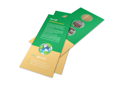 Recycling Flyer Template 2 preview