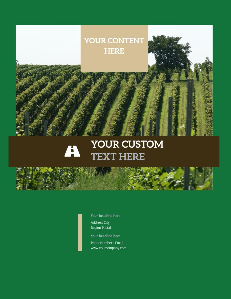 Farm Consultants Flyer Template Preview 3