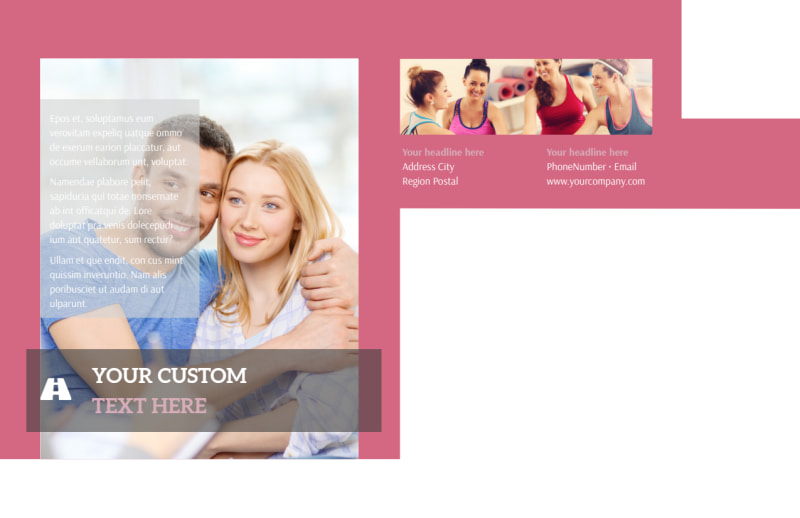 Pregnancy Counseling Center Postcard Template Preview 3