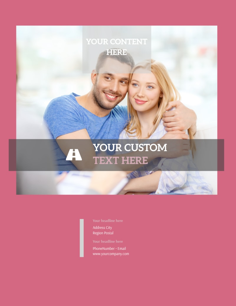 Pregnancy Counseling Center Flyer Template Preview 3