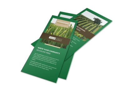 Farming & Agriculture Flyer Template 2