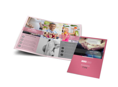Pregnancy Bi-Fold Brochure Template preview