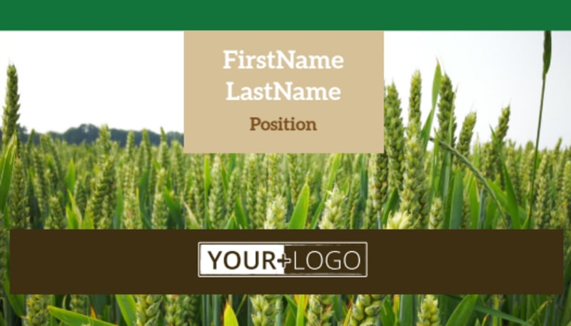 Farm Consultants Business Card Template Preview 2