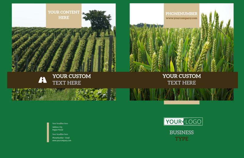 Farm Consultants Brochure Template Preview 2