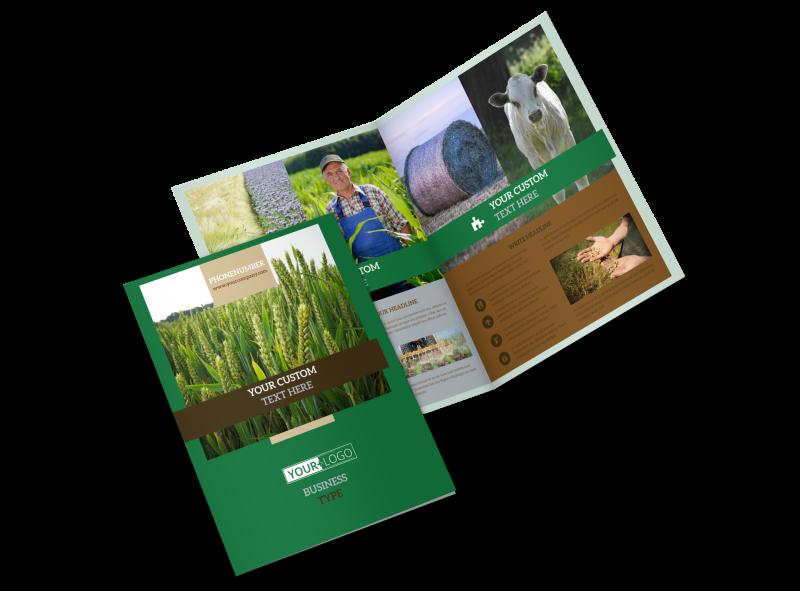 Farm Consultants Brochure Template Preview 1