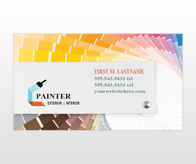 Painting Contractor Business Card Templates Best 2018